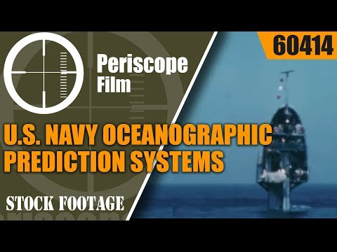 U.S. NAVY OCEANOGRAPHIC PREDICTION SYSTEMS  SEA ICE FORECASTING  ASWEPS  60414