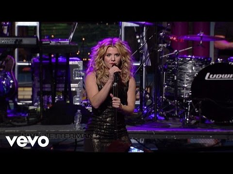 The Band Perry - DONE. (Live On Letterman)