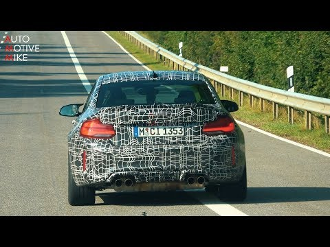 2020 BMW M2 CS SPIED TESTING AT THE NÜRBURGRING
