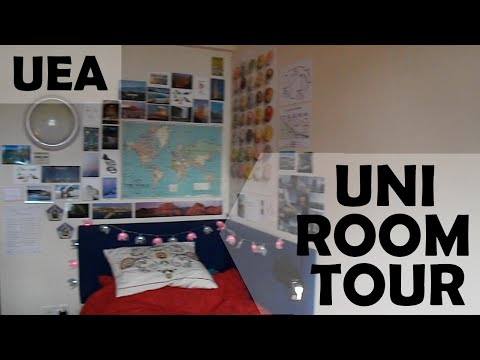 Uni Room Tour - UEA | Dots Above The E