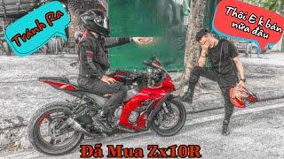 Tới Tài Tử Đã Mua Kawasaki ZX10R Như Thế Nào? Tại Sao Không Phải Là Cá Mập S1000RR.