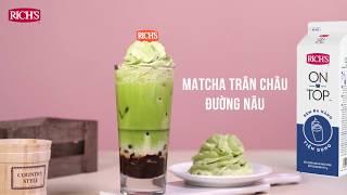How to make Brown Sugar Bubble Matcha
