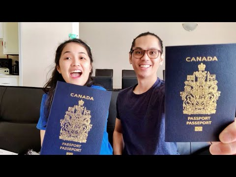 WE GOT OUR CANADIAN PASSPORT | BUHAY SA CANADA | Moises And Chelly Vlogs