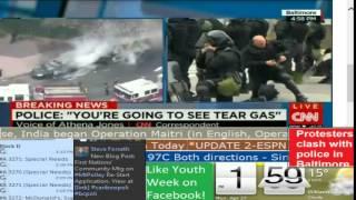BREAKING NEWS: Riots in Baltimore - CNN International - Lake City TV