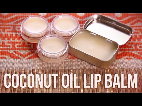 How to make lip gloss at home with coconut oil