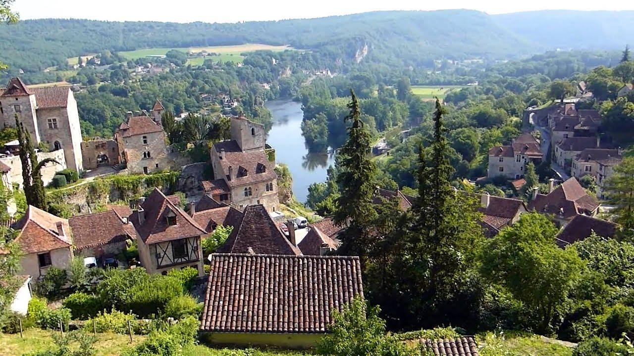 Saint Cirq Lapopie village préféré des Fran§ais 2012 HD