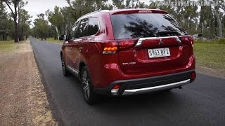 2016 Mitsubishi Outlander 2.4L 0-100km/h & engine sound