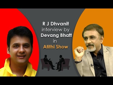 RJ Dhvanit Thaker | Vitamin She Gujarati Movie Actor | Interview Video by Devang Bhatt