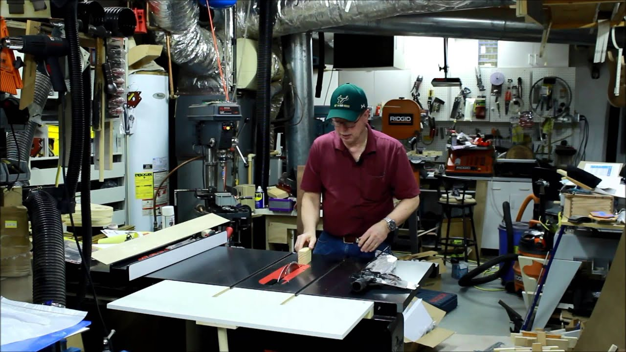 The Table Saw Riving knife and blade guard