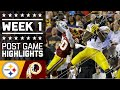 Steelers Vs. Redskins (week 1) | Post Game Highlights | Nfl video