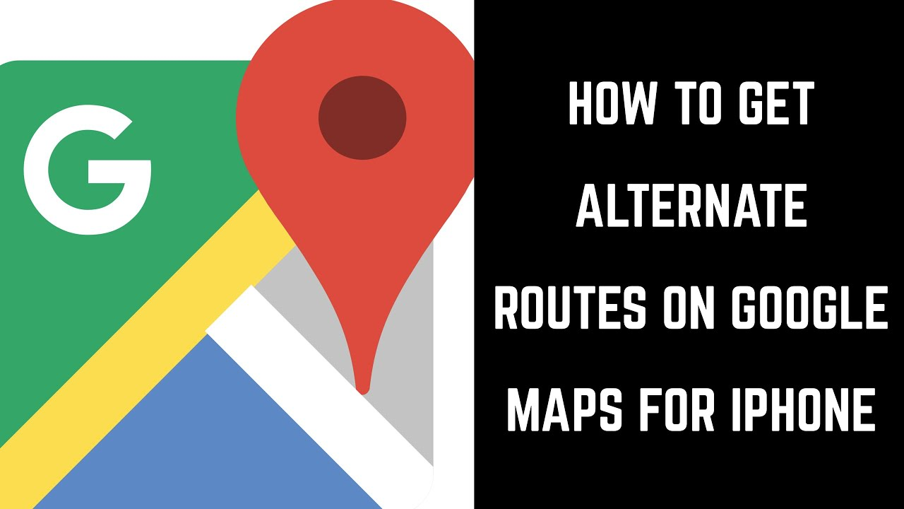 How to Get Alternate Routes on Google Maps iPhone Google Maps Alternate Routes on google maps russia, iphone map route, google points of interest, apple map route, world map route, google car route, united states map route, google plan route,