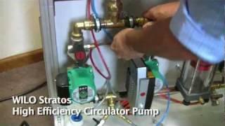 WILO Stratos High Efficiency Circulator Pump Demo