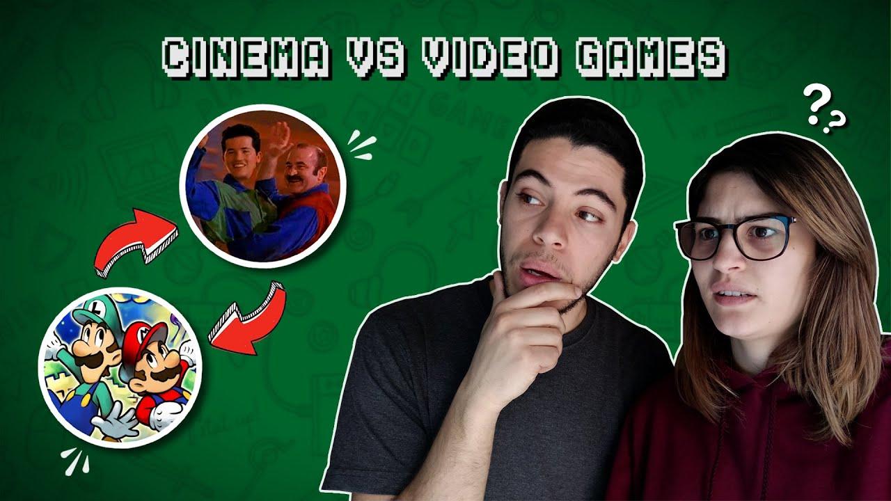 Movies Vs Video Games ||  صراع الالعاب الإلكترونية مع السينما