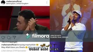 Lirik+Arti Sholawat yang dilantun Sharla - The Voice Kids Indonesia