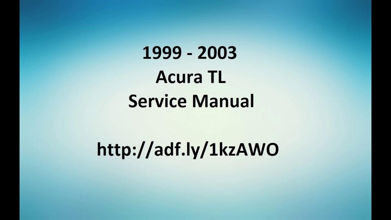 2003 Acura 3 2 Tl Manual