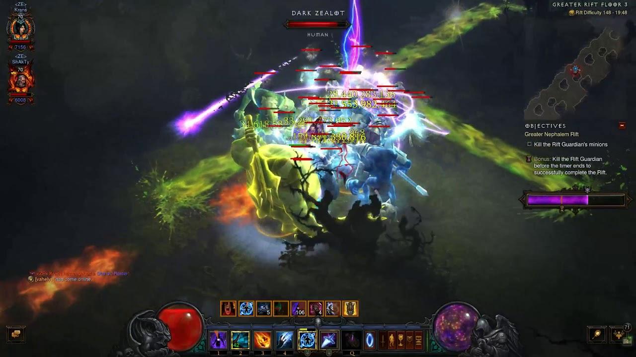 Diablo 3 - NS 2P GR 148 Rank 9 EU