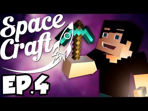 SpaceCraft: Minecraft Modded Survival Ep.4 - Going Mining!