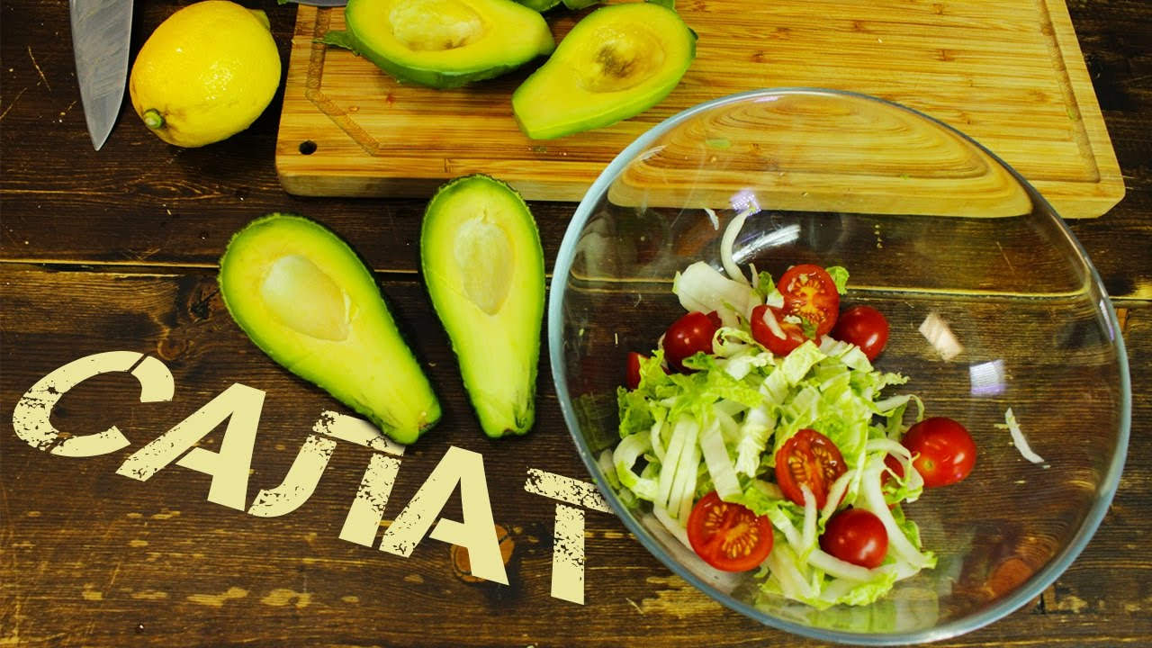 Простой салат с авокадо | авокадо рецепты для похудения живота