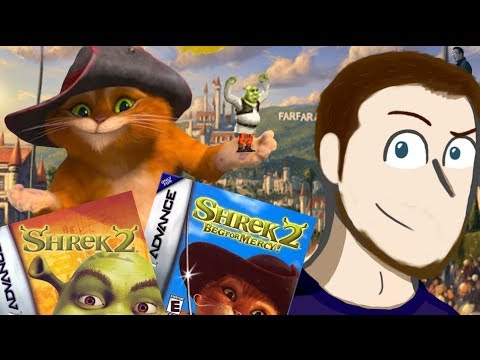 Shrek 2 + Beg For Mercy (GBA) Review - SmashMasterShow
