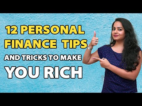 12 Personal Finance Tips and Tricks to Make You Rich #StayHome and Learn Money #WithMe