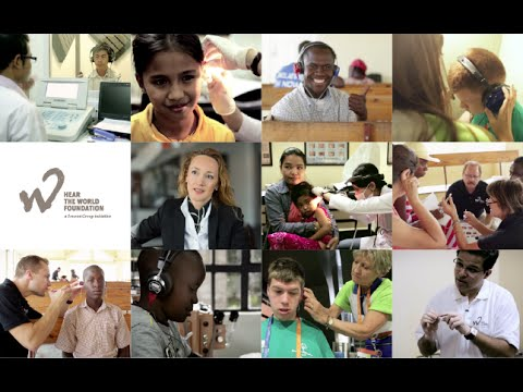 Employee commitment for the Hear the World Foundation