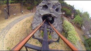 The Demon Roller Coaster POV California's Great America