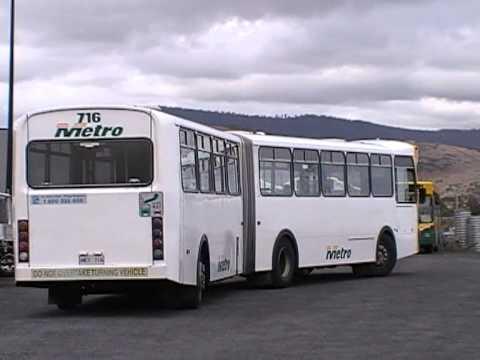Metro #716 Volvo B10MA-55 mk.II PMC in Bridgewater, Tasmania - YouTube