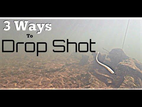 3 ways to Fish a Drop Shot (B.Lat)