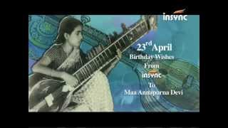 Birthday - 23rd April - Annapurna Devi
