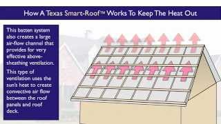 Houston Cool Roof Design: The Texas Smart Roof™