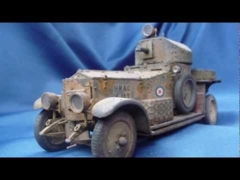 Roden Rolls Royce Armoured Car 1920 Mk.I in 1/35 scale
