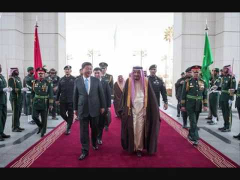 Chinese president arrives in Saudi Arabia on Mideast tour