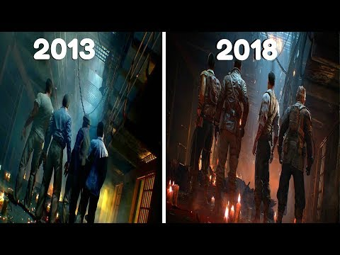 The Evolution of Mob Of The Dead - Call of Duty Zombies: