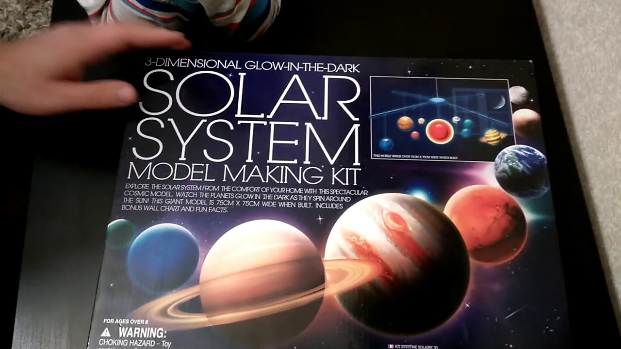 4M 3D Glow in the Dark Solar System Mobile (4M Kidz Labs)