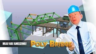 Poly Bridge pl #6 - MLG! GG! Amejzing! || Plaga