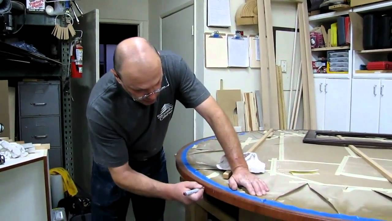 A Lesson With Leonid - Restoring Antique Furniture