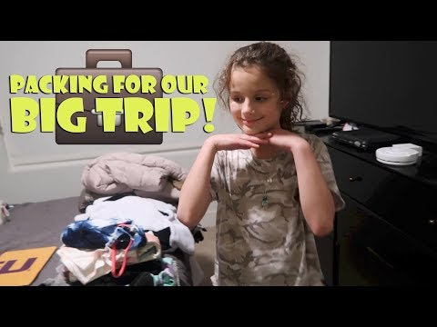 Packing For Our Big Trip 💼 (WK 367) | Bratayley