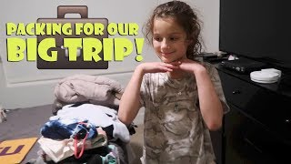 Packing For Our Big Trip 💼 (WK 367)   Bratayley
