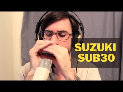 Suzuki SUB30 UltraBend 10-hole Diatonic Harmonica played by Filip Jers