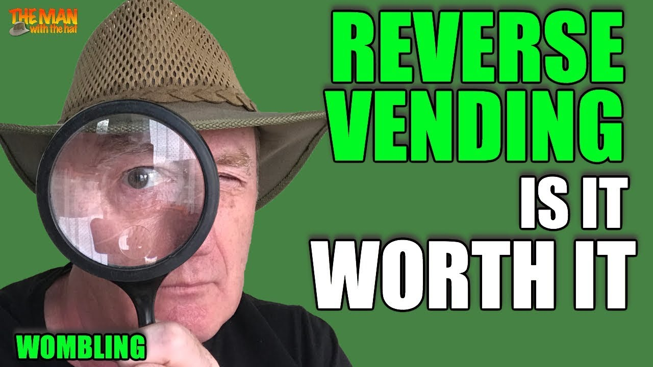 5d95277f68490 REVERSE VENDING RECYCLING CREATES A NEW WOMBLING OPPORTUNITY - YouTube