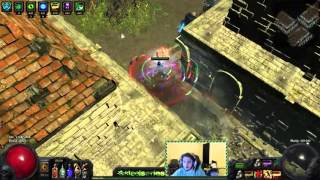 path of exile hc level 90 blade vortex build