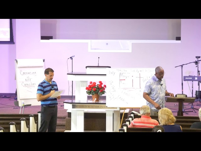 Lesson 1 - Wednesday Night Disciples - Dr Robert Loggins