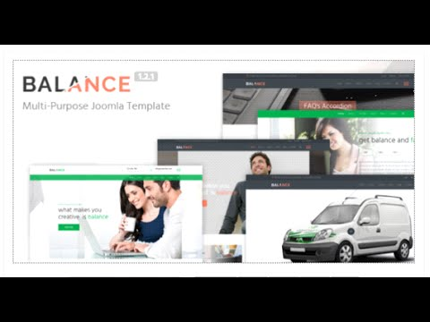 Balance - Multipurpose Joomla Template by marbol2 | ThemeForest Download