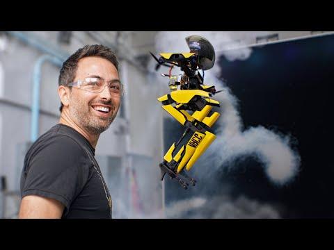 This Robot Walks, Flies, Skateboards, Slacklines