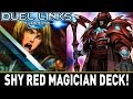 Shy Red Magician Deck! | YuGiOh Duel Links Mobile w/ ShadyPenguinn