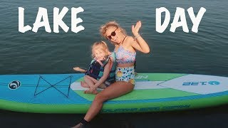 FIRST LAKE DAY OF SUMMER 2018!!