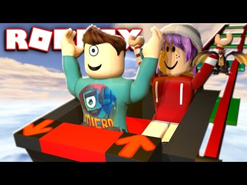RIDE A CART TO THE WINNERS IN ROBLOX w/ RadioJH Games!