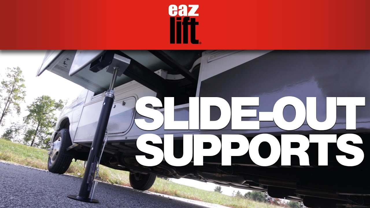 Eaz-Lift's RV Slide-Out Supports