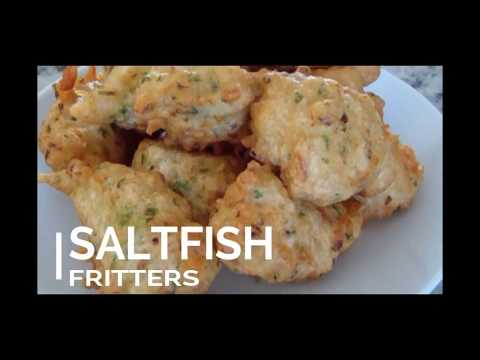 Saltfish Fritters: Step By Step