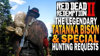 Legendary Tatanka Bison Hunting & Special Hunting Request Red Dead Redemption 2 [RDR2]